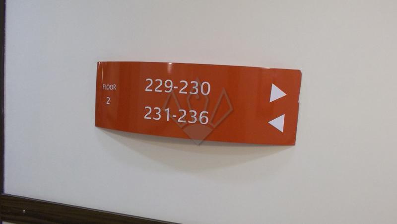 Alumnium Painted Name Plate