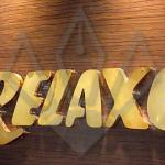 Brass Box type Letters