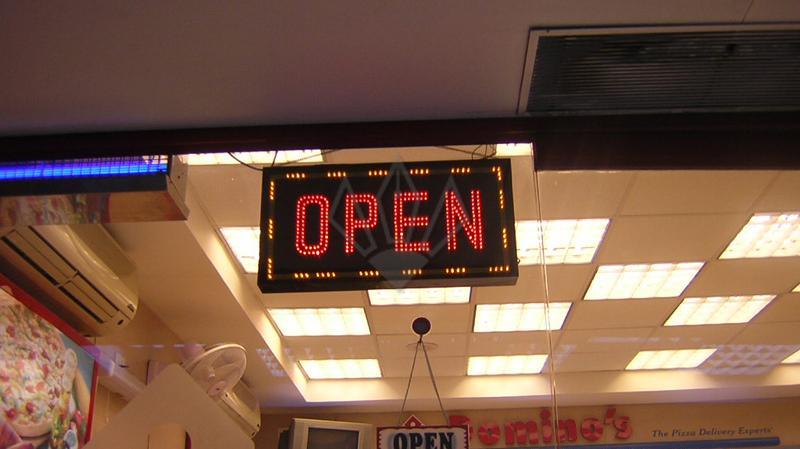 Facelit Open LED Letter